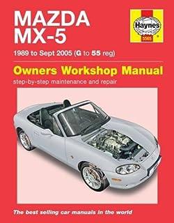 mazda mx 5 service and repair manual 1989 2005 haynes service and rh amazon co uk mx 5 2006 service manual MX-5 2018 R