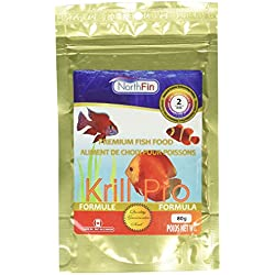 Northfin Food Krill Gold 2mm Pellet 80 Gram Package