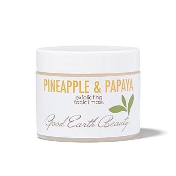 Amazon.com: Máscara facial – Piña y Papaya Exfoliante ...