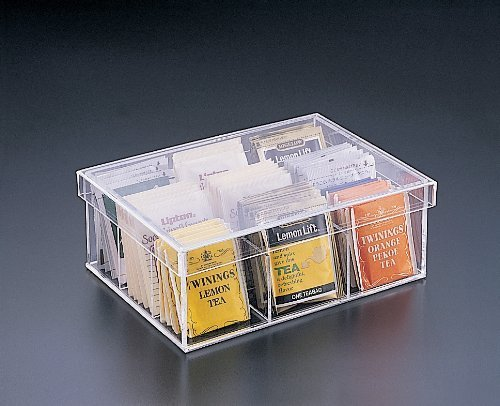 Tea Bag 9 Compartment Box by Acrylichomedesign