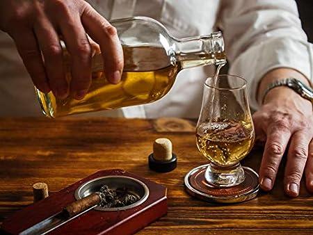 Copa Glencairn Nosing cata de whisky 1 2 4 6 8 Hecho en Escocia