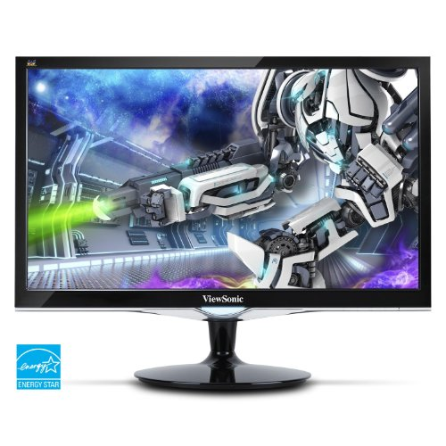 24 Inch 2ms 75Hz 1080p Gaming Monitor with HDMI DVI and VGA inputs - ViewSonic VX2452MH