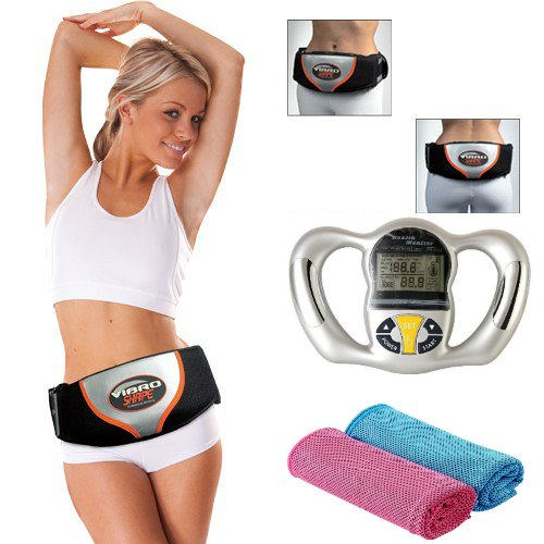 The ORIGINAL IGIA Vibro Shape Fitness Belt and Body Sculpting System by OraCorp (Image #6)