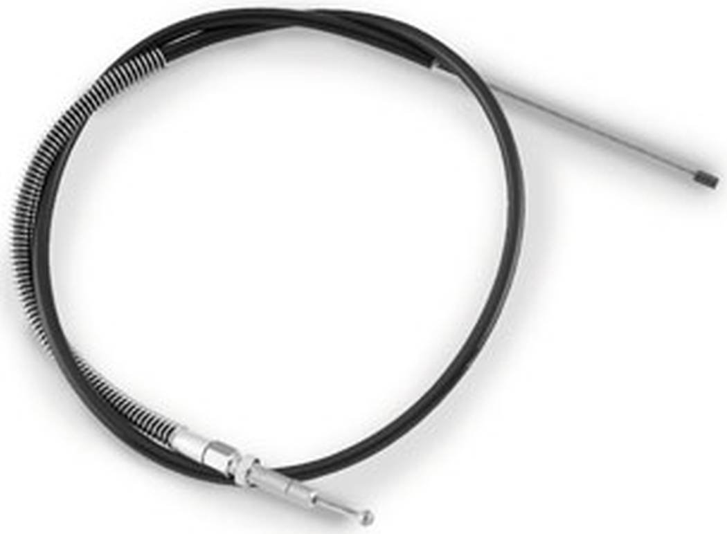 Black Vinyl Clutch Cable Barnett Performance Products +4in.