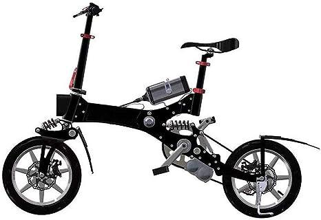 Rxrenxia Bicicleta Eléctrica Plegable, Dos Ruedas Mini Pedal ...