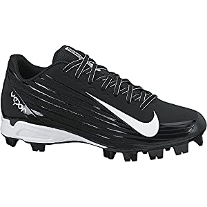 NIKE Boy's Vapor Strike 2 Metal Cleat Substitute (GS) Baseball Cleat Black/White Size 6 M US