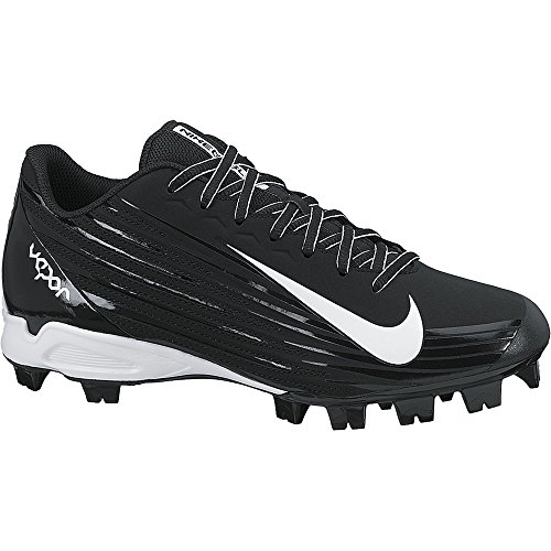 NIKE Boy's Vapor Strike 2 Metal Cleat Substitute (GS) Baseball Cleat Black/White Size 5 M US (Vapor Youth)