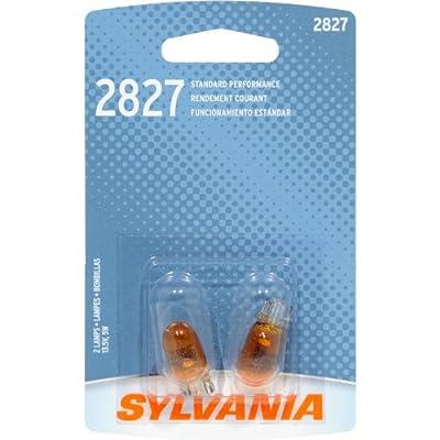 SYLVANIA 2827 Basic Miniature Bulb, (Contains 2 Bulbs)