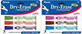 Chisel Tip Dry-Erase Markers (3 Pack) Quantity: Case of 144, Color: Fancy