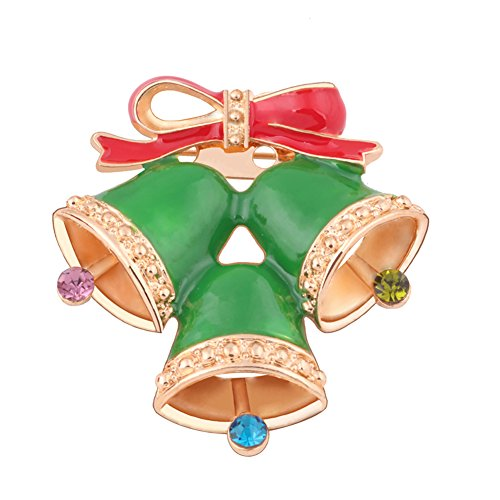 La Cabina Cadeaux Rouge Bas de Noël de Bonhomme de Neige Festival Broche Bijoux de Noël