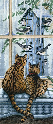 Dimensions Needlecrafts Counted Cross Stitch, Who's Watching