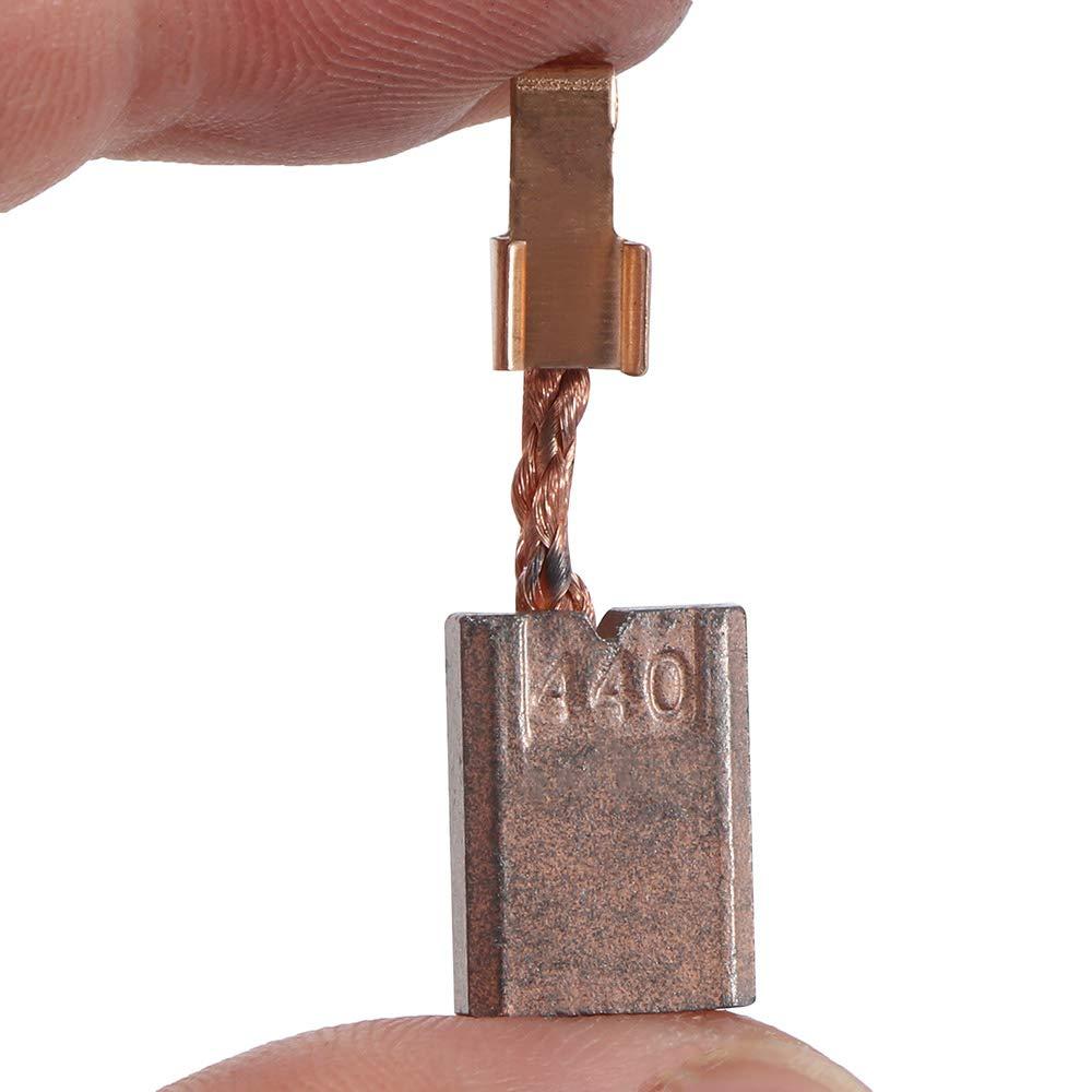 482 DTW251 BHP451 BHP452 ONEVER Reemplazo de escobillas de carb/ón Makita Longlife CB440 para taladros Makita CB-440 DF458Z DTD140 DTD146 DHP456 DHP458