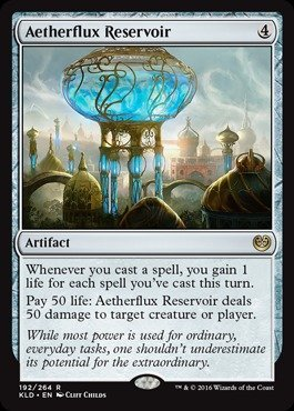 Magic: the Gathering - Aetherflux Reservoir (192/264) - Kaladesh