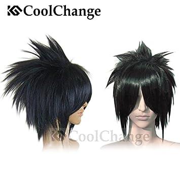 CoolChange Peluca de Sasuke Uchiha, Negra