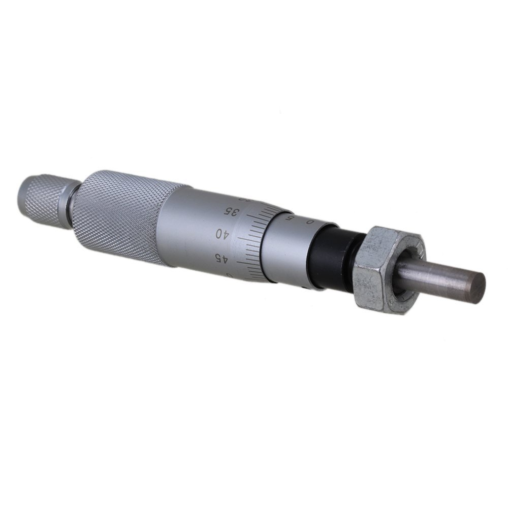 Range 0-25mm Accuracy 0.01mm Flat Needle Type Mini Metal Precise Micrometer Head Measurement Tool With Nut ZIJIA