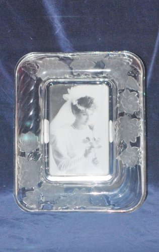 Chrysanthemum Crystal Picture - Picture Frames Signatures Crystal Clear