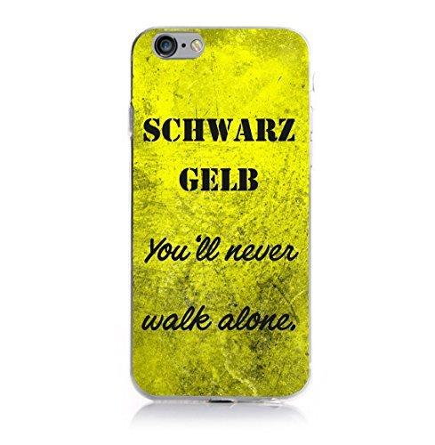 iPhone 6 Plus - 6s Plus Fan Case - Schwarz Gelb