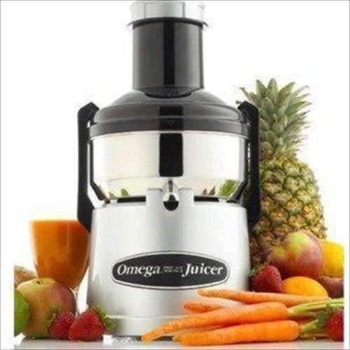 Electric Vegetable Juicers Omega Bmj330 Mega Big Mouth Juicer - Juice Extractor Machine - Stainless Bmj 330 Electric Juices by Electric California