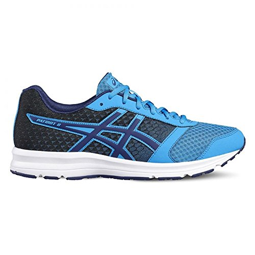 ASICS - Patriot 8 - T619N4549 - El Color: Negros-Azul - Talla: 9.0