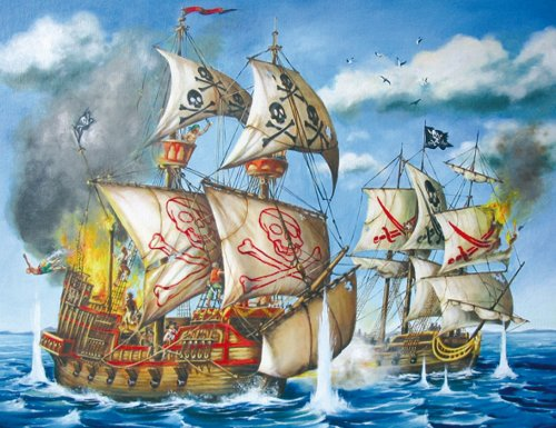 Ravensburger Pirate Ship - 200 Piece Puzzle