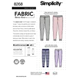 Simplicity US8268A Easy to Sew Unisex Jogger Pants