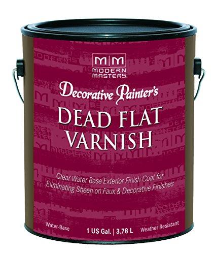 Modern Masters DP609-GAL Dead Flat Varnish, 1-Gallon -