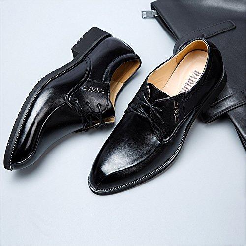 Hommes Business PU Brown Homme Flats Richelieus Black Sole Color 2018 Formel EU Hommes Classique en pour Cuir Les Size 39 Oxfords Chaussures Sole X4aWqzSw