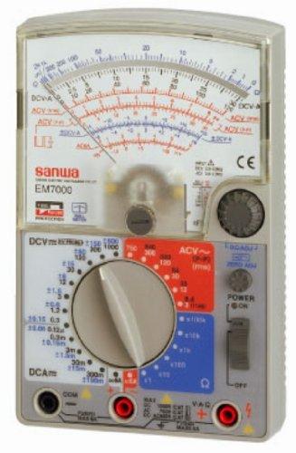 Sanwa Em7000 Analog Multimeter FET TesterGENUINE by Sanwa