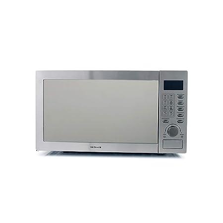 IKOHS Microondas HW800S Plateado - Microondas, 800W,Capacidad de 23L, 5 Niveles de Potencia, Temporizador hasta 30 minutos, Menú Automático 8, Cocción ...