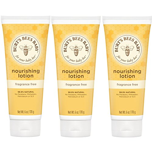 Burt's Bees Baby Nourishing Lotion, Fragrance Free Baby Lotion - 6 Ounce Tube (Pack of - Fragrance Comfort