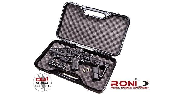 rocase-g2 – 26 CAA Tactical Funda para Roni G2 – 26 + laser y pistola de linterna en forma de llavero: Amazon.es: Deportes y aire libre