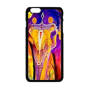 Colorful elephant Cell Phone Case for Iphone 6 Plus