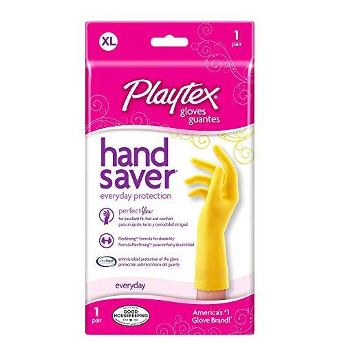 Playtex HandSaver Gloves, X-Large 1 Pair ( Pack of 2)