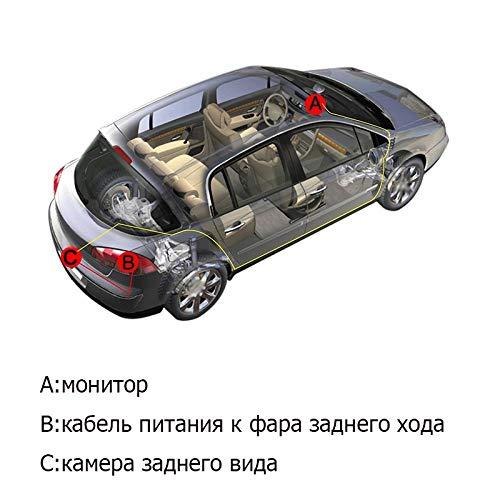 Mondeo Freelander Carnival S-Max Focus 2C 3C Range Rover TOOGOO C/ámara De Visi/ón Trasera De Marcha Atr/ás Del Coche Para