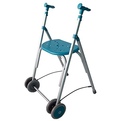 Andador Rollator | De aluminio | Plegable | Regulable en ...