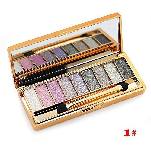 CTBeauty 9 Colors Diamond Bright Colorful Makeup Eye Shadow