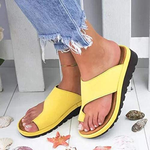 PU Leather Soft Orthotic Sandals