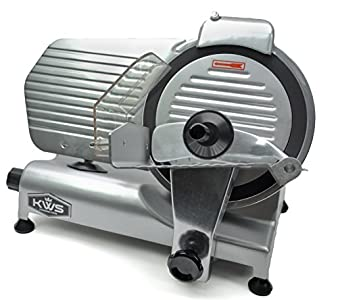 KitchenWare Station KWS Premium Commercial 320w Electric Meat Slicer 10″ – One of the better slicers in this price bracket.
