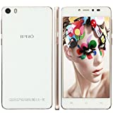 IPRO Mobile Phone Unlocked,5HD Android 5.0 16G ROM+2G RAM Dual Camera 13MP 1280*720 FHD 1.3GHz Dual Core Dual SIM WCDMA GSM 3G WIFI IPS Screen Smartphone w/ Bluetooth & battery+Charger (Gold)