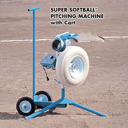 Jugs Super Softball Pitching Machine with Cart
