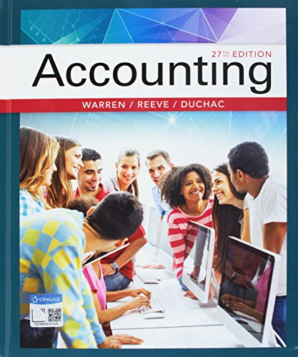 Bundle: Accounting, 27th + CengageNOWv2, 2 terms Printed Access Card