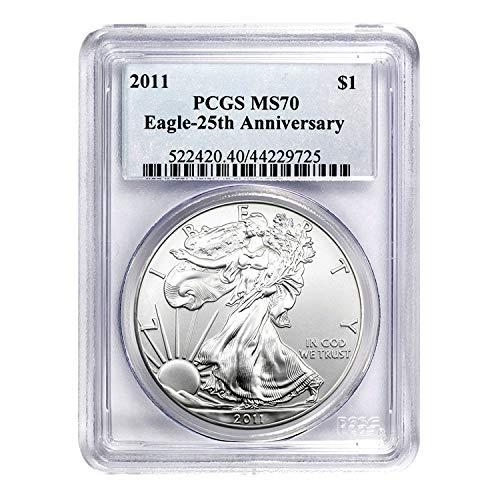 Buy 2011 silver eagle pcgs 70
