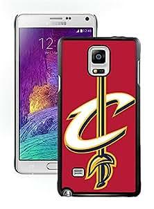 New Custom Design Cover Case For Samsung Galaxy Note 4 N910A N910T N910P N910V N910R4 Cleveland Cavaliers 3 Black Phone Case