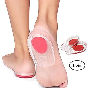Amazon com: Silicone Heel Cups,KINGEVA Silicone Heel Pads for Bone
