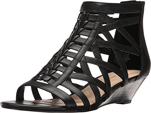 Nine West Women's 'Hadlee' Wedge Sandal (6.5M, (Nine West Gladiator Sandals)