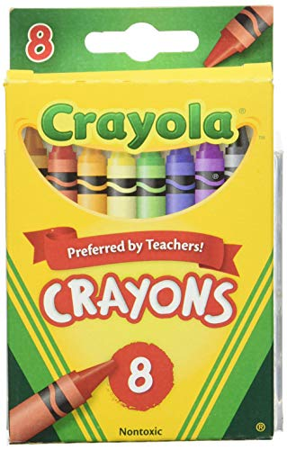 Crayola Crayons, 8 Count (Case of 48)