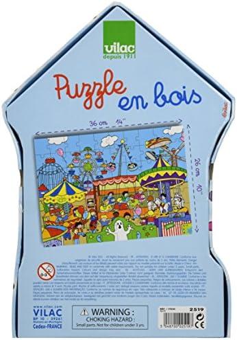 Vilac Puzzles La Maison 24 Pi/èces 2643
