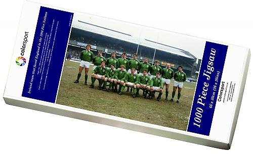 Media Storehouse 1000 Piece Puzzle of Ireland team that faced England in the 1986 Five Nations (10220384)
