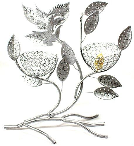 Bejeweled Display® Two Bird Nest w/ Bird Jewelry