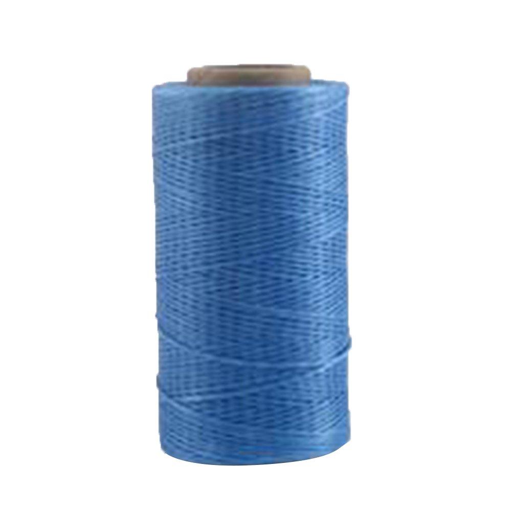 Hmocnv - Filo per imperlare, da 1 mm e 260m di lunghezza, in nylon cerato, per bracciali fai da te e progetti artigianali di cucito in pelle, Dark Brown, Taglia libera